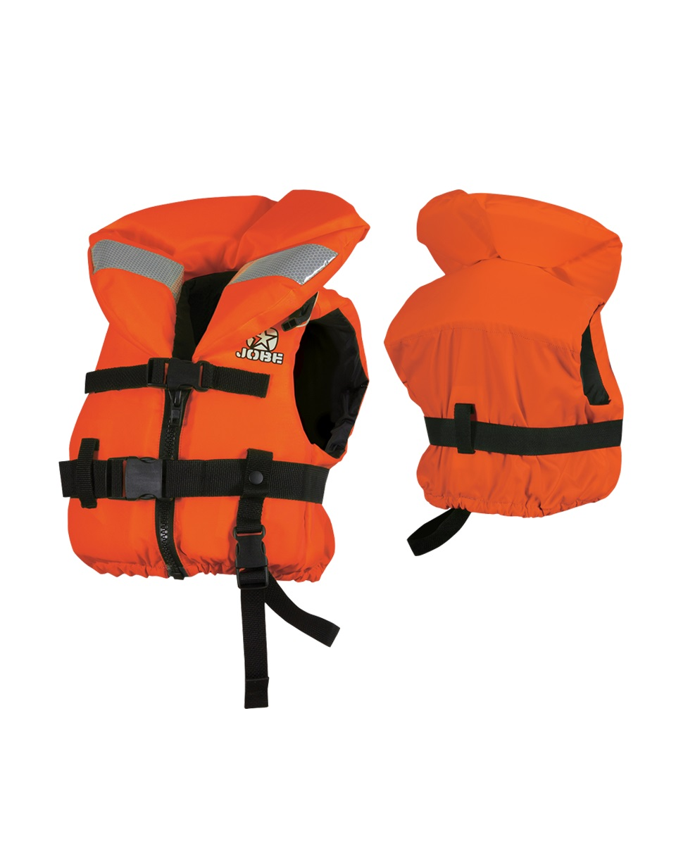 Страховочный жилет Jobe Comfort Boat. Vest Youth Orange ISO 240312003-XS-S