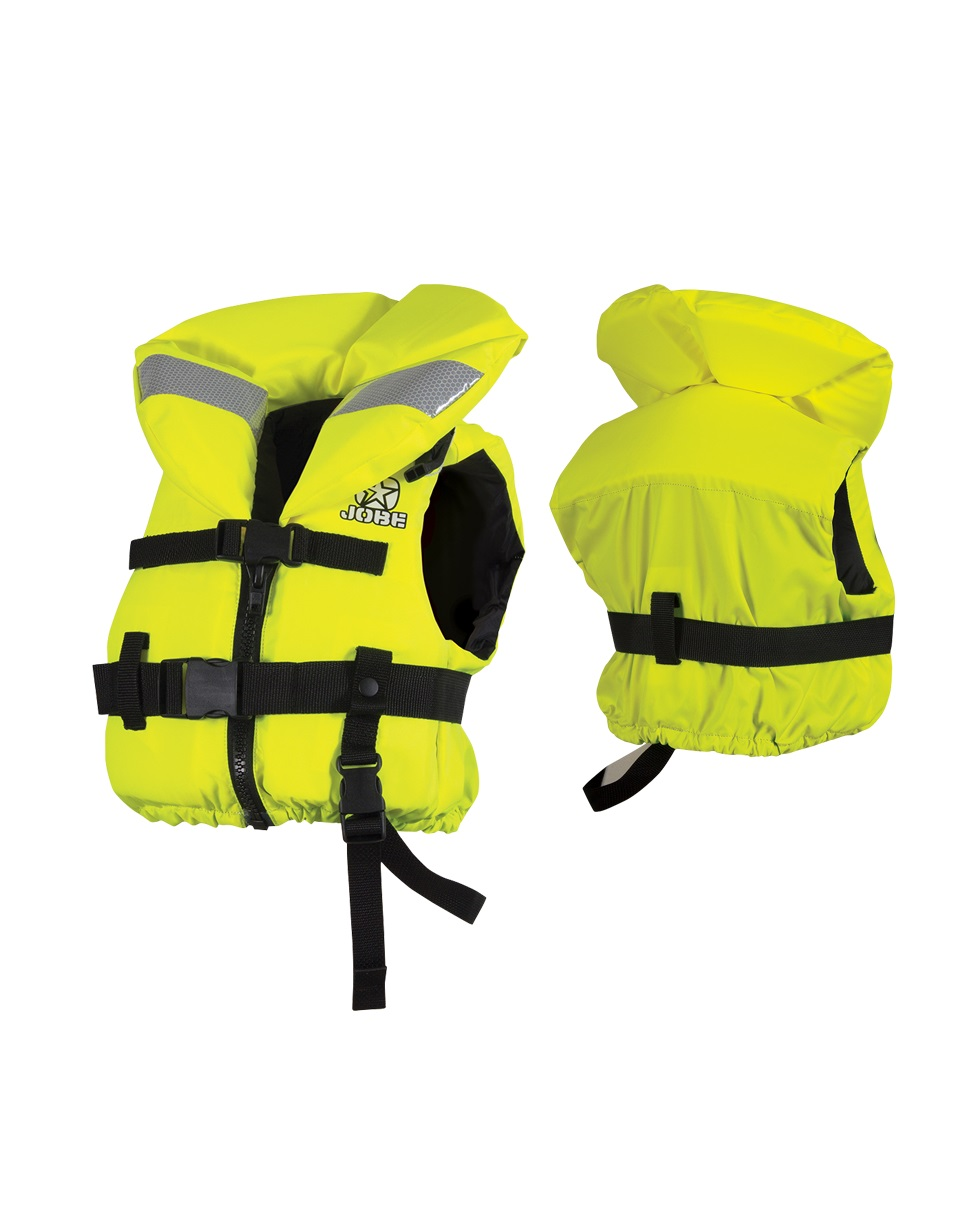 Страховочный жилет Jobe Comfort Boat. Vest Youth Yellow ISO 240212005-3XS-2XS