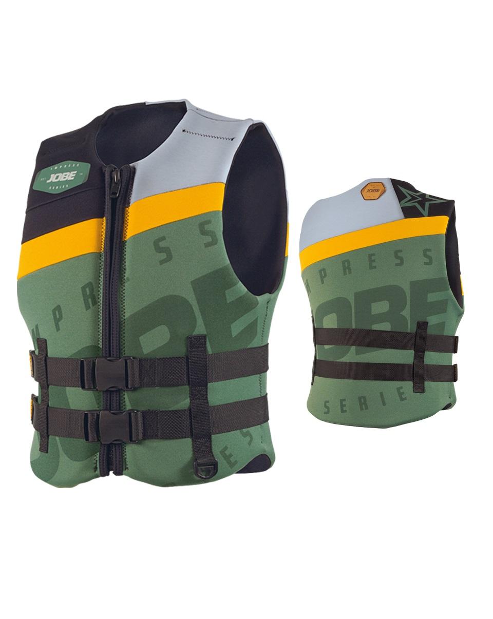 Жилет спасательный Jobe Progress Neo Vest Men (хаки) 244915023-L