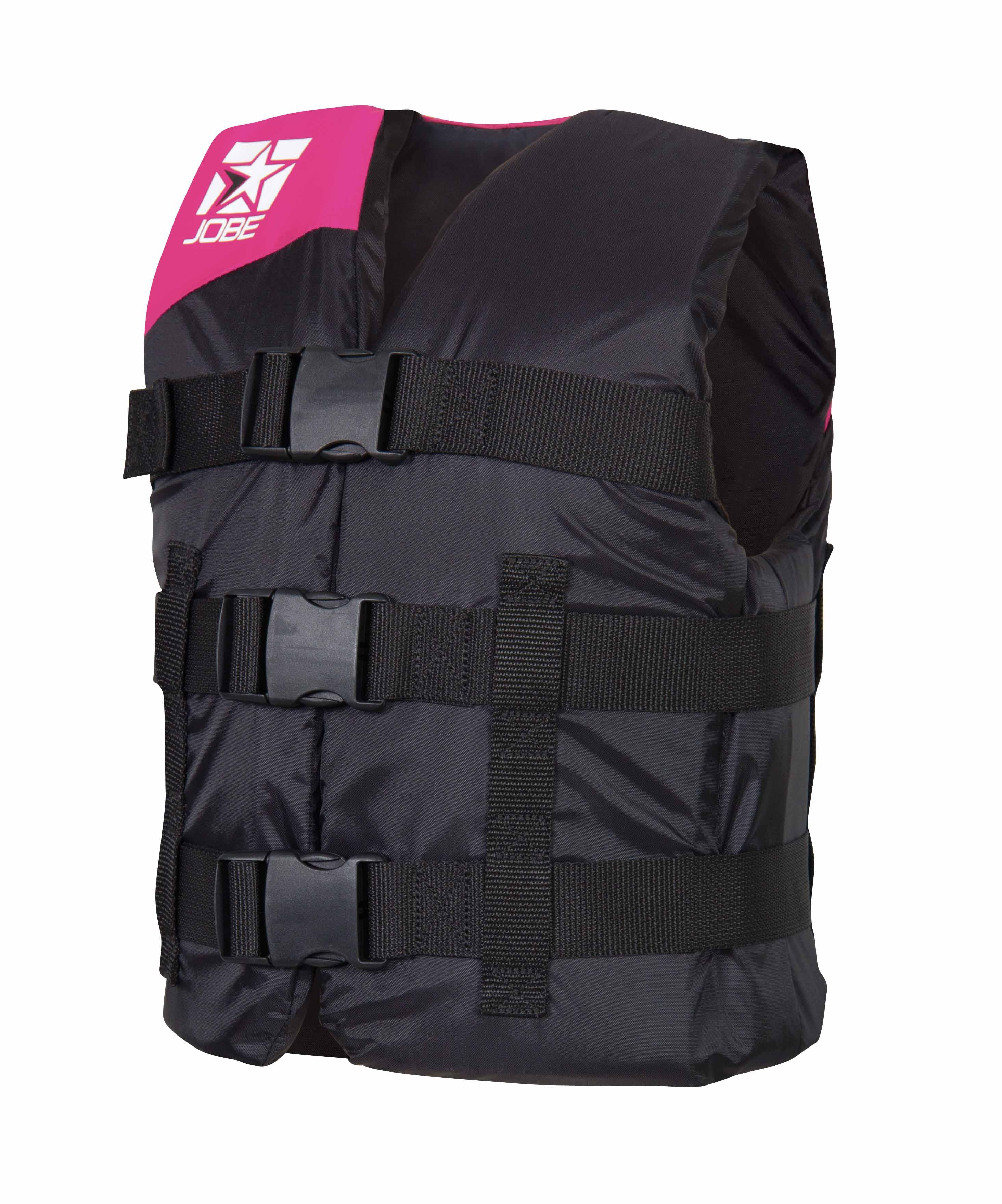 Страховочный жилет Jobe Progress Nylon Vest Youth Pink 244813011